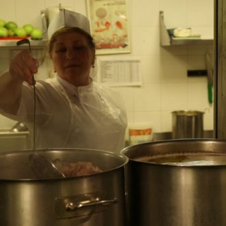 Canteen 57 in the documentary Generation of Change (© Arte, MDR, Looks Film & TV)