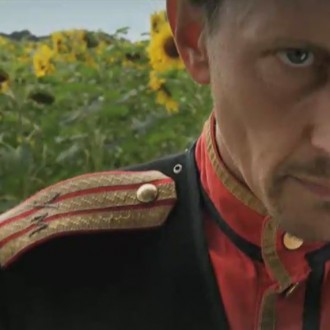 Officer Yurlov in the documentary series 14 Diaries of World War One (© Looks Film & TV)