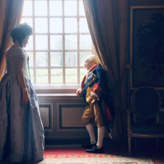 Wilhelmina of Prussia and stadtholder William V in episode 8 of The Story of the Netherlands (© Tuvalu, NTR).