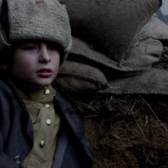 David Kaplan as Misha Petrovsky in episode 7 of Small Hands in a Big War (© Looks Film & TV).