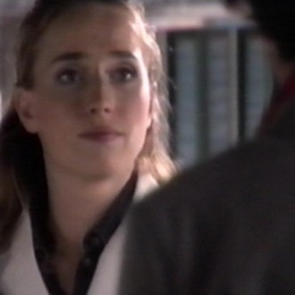 Marguerite de Brauw as Claire Bronkhorst in episode 15 of the hospital series Trauma 24/7 (© Endemol Netherlands)