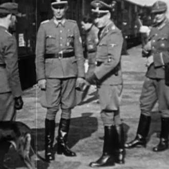 Duitsers in Westerbork in aflevering 8 van 13 in de oorlog (© NTR)