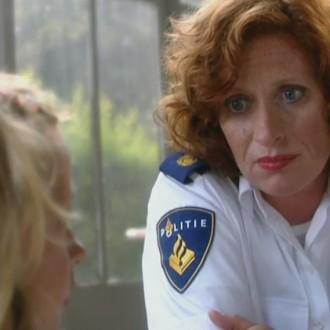 Oda Spelbos als Marion Dreesen in aflevering 37 van Flikken Maastricht (© Eyeworks)