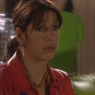 Isa Hoes als Catherina Donkersloot in aflevering 74 van Rozengeur & Wodka Lime (© Endemol Nederland)