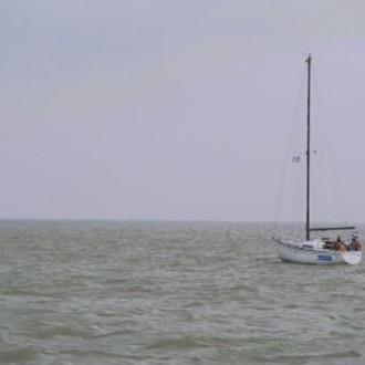 Jaspers boot in aflevering 74 van Rozengeur & Wodka Lime (© Endemol Nederland)
