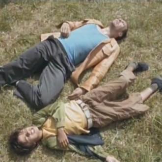 Jochem Stevenuiter als Remy en Shai Datauker als de 8-jarige Carlo in Salto Mortale (© Eyeworks Egmond Film & TV Drama)