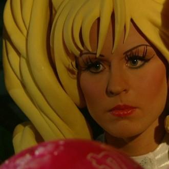 Jacqueline Goedmakers als Charm in aflevering 3 van Sportlets (© Workout Factory BV)