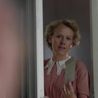 Christina Kühnreich als Luise Solmitz in het docudrama Vater, Mutter, Hitler (© SWR/ECO Media TV/Thomas Schuhbauer)