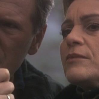 Jules Hamel als Bas Janssen en Henriëtte Tol als Conny de Graaf in aflevering 114 van Westenwind (© Endemol Nederland)
